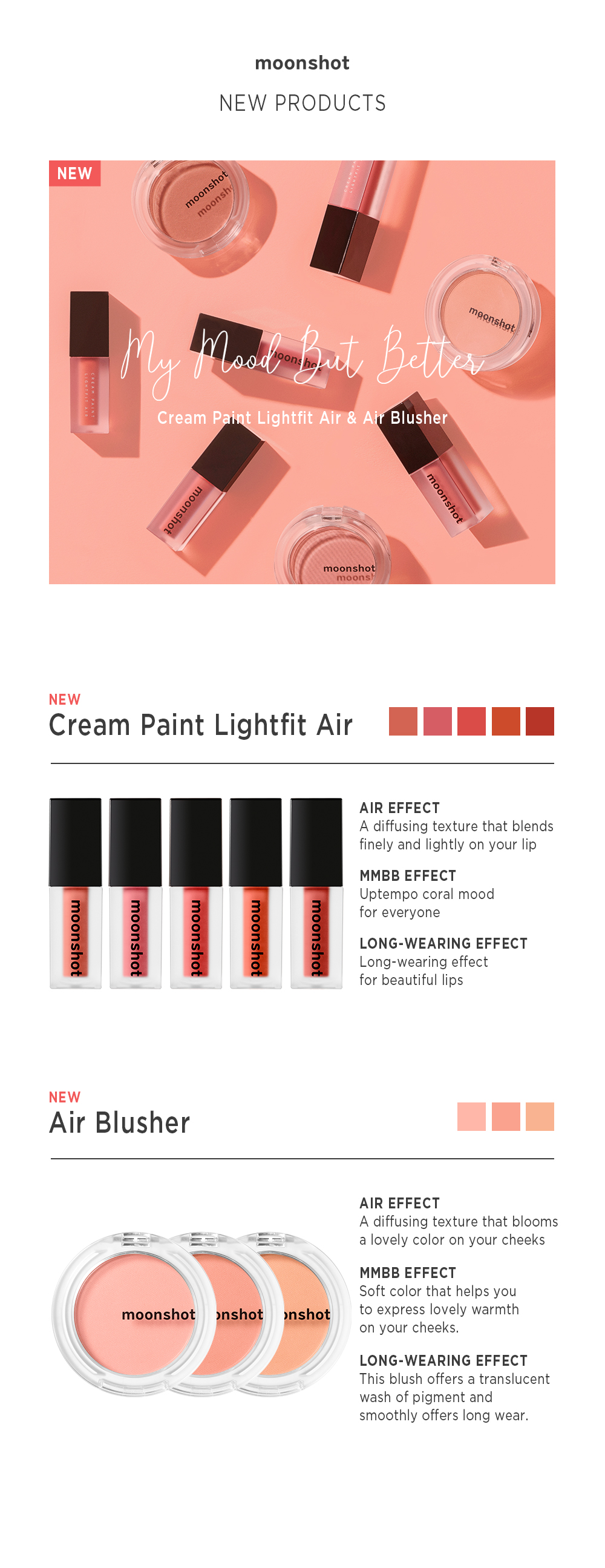 Cream Paint Lightfit Lip Paint Korea