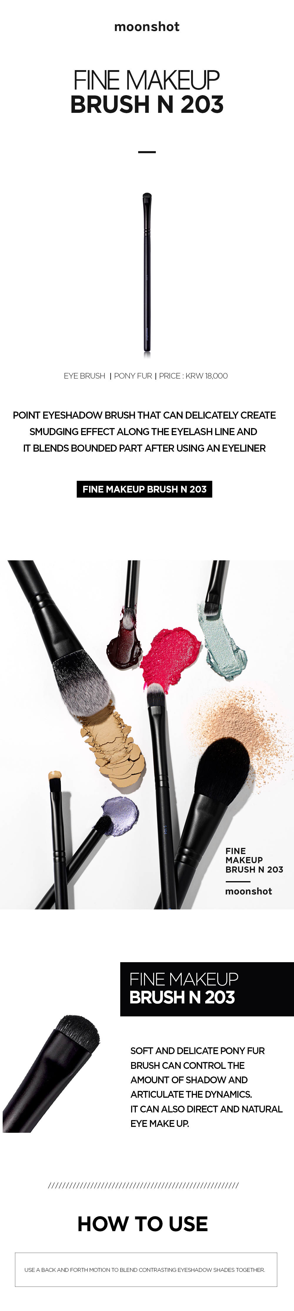 Fine Makeup Brush Cosmetic Accessory